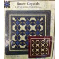 Snow Crystals de Jinny Beyer bleu