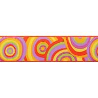 Orange pink lime target